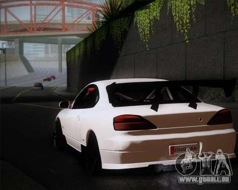 Nissan Silvia S15 JDM pour GTA San Andreas vue intérieure