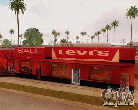 Nouvelles textures Binco pour GTA San Andreas