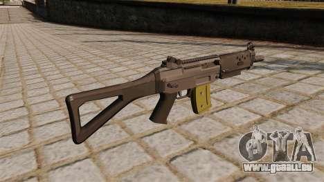 Automatische SIG SG 552 Commando für GTA 4 Sekunden Bildschirm