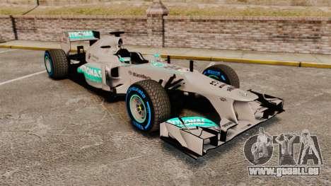 Mercedes AMG F1 W04 v2 pour GTA 4