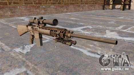 Le fusil de sniper M110 pour GTA 4