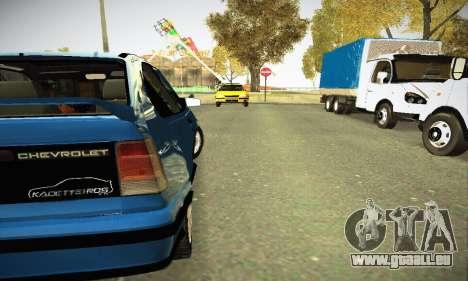 Chevrolet Kadett GS 2.0 pour GTA San Andreas vue de droite