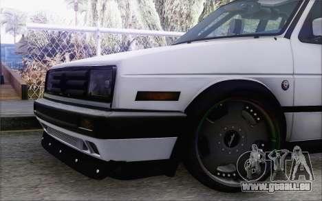 Volkswagen Jetta Mk2 für GTA San Andreas rechten Ansicht
