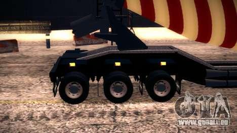 Cement Mixer für GTA San Andreas Rückansicht