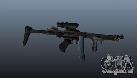 La mitraillette Thompson 2009 pour GTA 4 troisième écran