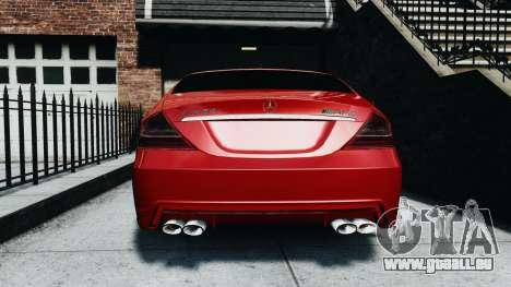 Mercedes-Benz CLS AMG pour GTA 4 est un droit