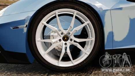 Lamborghini Aventador LP700-4 LE-C 2014 pour GTA 4 Vue arrière