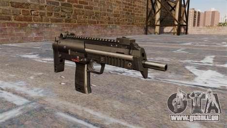 HK MP7 Maschinenpistole für GTA 4