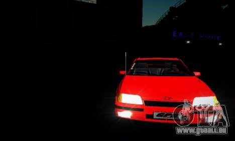 Chevrolet Kadett GS 2.0 pour GTA San Andreas vue intérieure
