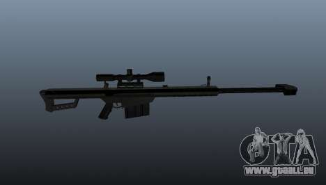 50 Sniper Gewehr Kaliber für GTA 4 dritte Screenshot