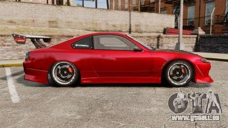 Nissan Silvia S15 pour GTA 4 est une gauche
