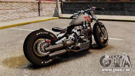 Harley-Davidson Knucklehead v1 pour GTA 4 est une gauche