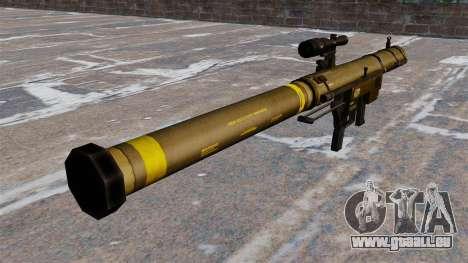 Lance-grenades Mk153 SMAW épaule Mod 0 pour GTA 4 secondes d'écran
