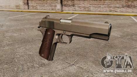 Colt M1911 pistolet v5 pour GTA 4