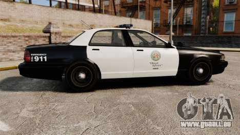 GTA V Police Cruiser [ELS] pour GTA 4 est une gauche
