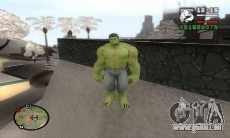Hulk für GTA San Andreas