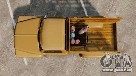 Hot Rod Truck Gas Monkey für GTA 4 rechte Ansicht