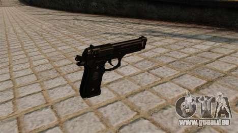 Beretta M92FS Pistole für GTA 4 Sekunden Bildschirm