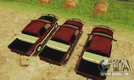 Ford F-150 KING RANCH Edition 2010 pour GTA San Andreas vue intérieure