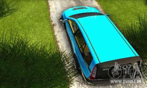 Mitsubishi Evo IX Wagon S-Tuning pour GTA San Andreas vue intérieure