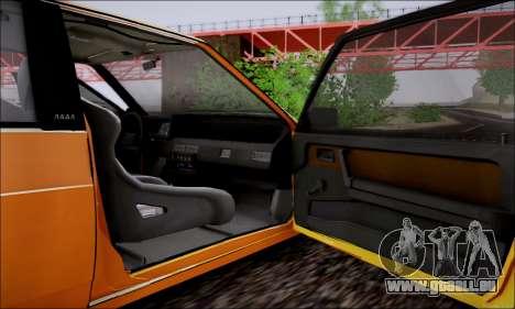 VAZ 21083 basse classique pour GTA San Andreas vue de dessus