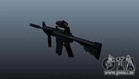 Automatische Carbine M4A1 Grip für GTA 4 Sekunden Bildschirm