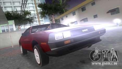 Delorean DMC für GTA Vice City linke Ansicht