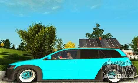 Mitsubishi Evo IX Wagon S-Tuning pour GTA San Andreas vue de droite