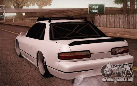 Nissan Silvia S13 Stance pour GTA San Andreas laissé vue