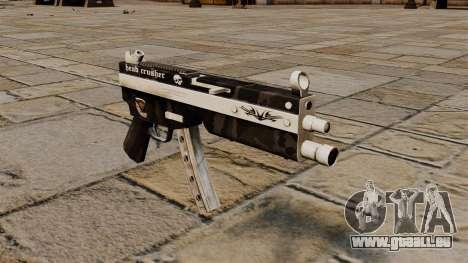 Die MP5 Maschinenpistole Head Crusher für GTA 4