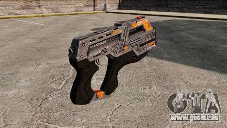 Pistolet Mass Effect v2 pour GTA 4 secondes d'écran