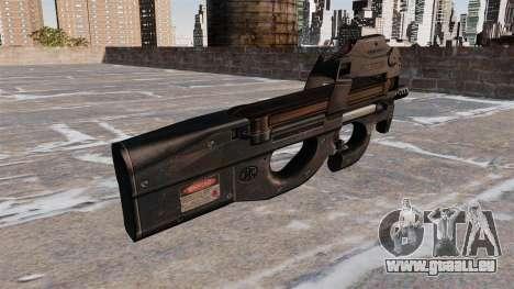 Pistolet mitrailleur P90 pour GTA 4 secondes d'écran