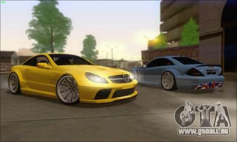 Mercedes-Benz SL65 AMG GB pour GTA San Andreas