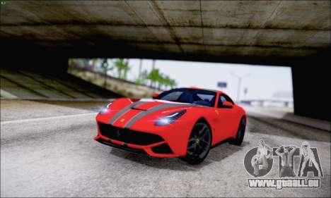 Ferrari F12 Berlinetta Horizon Wheels für GTA San Andreas obere Ansicht
