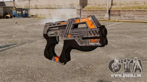 Pistolet Mass Effect v2 pour GTA 4