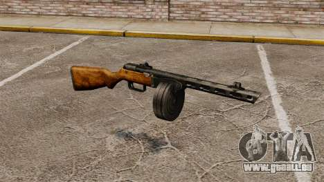 Špagina Maschinenpistole, 1941 für GTA 4