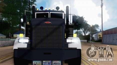 Peterbilt 379 Papa Clyde pour GTA San Andreas vue de côté