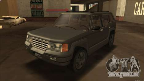 Landstalker HD from GTA 3 pour GTA San Andreas