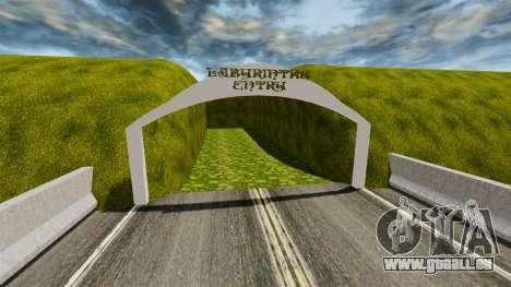 Labyrinthe pour GTA 4 troisième écran