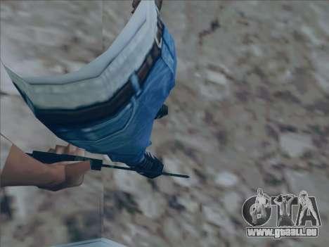 Battlefield 2142 Knife pour GTA San Andreas deuxième écran
