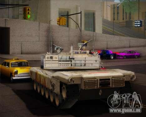 Abrams Tank Indonesia Edition pour GTA San Andreas vue de droite