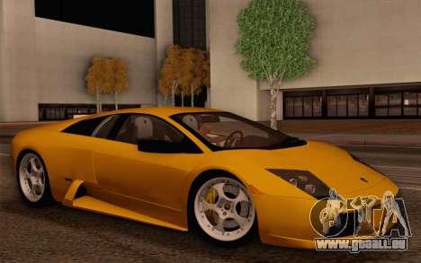 Lamborghini Murciélago 2005 für GTA San Andreas Innen