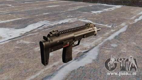 Pistolet mitrailleur HK MP7 pour GTA 4 secondes d'écran