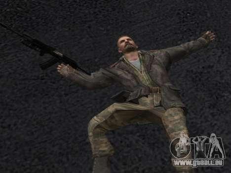 Viktor Reznov für GTA San Andreas sechsten Screenshot