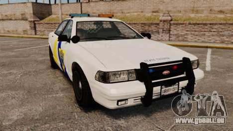 GTA V Police Vapid Cruiser Alderney state pour GTA 4