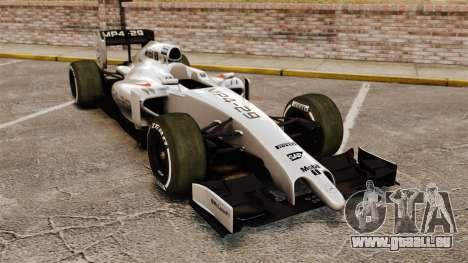McLaren MP4-29 für GTA 4