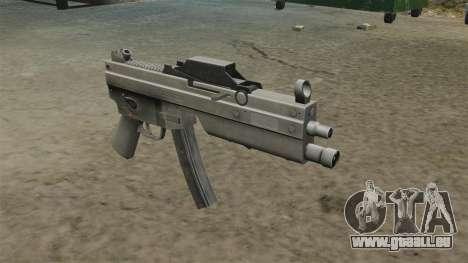 Mise à jour MP5 mitraillette pour GTA 4