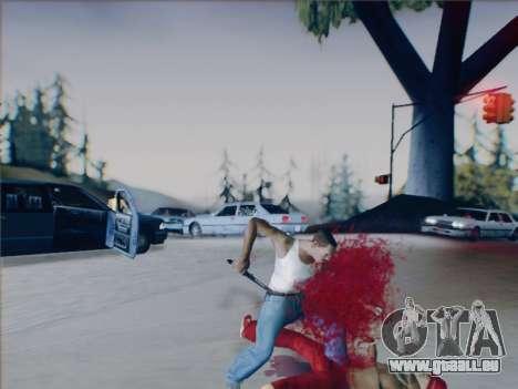 Battlefield 2142 Knife pour GTA San Andreas sixième écran