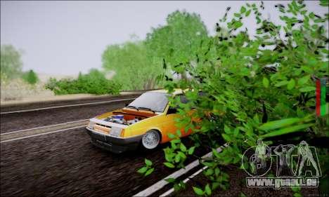 VAZ 21083 basse classique pour GTA San Andreas vue arrière