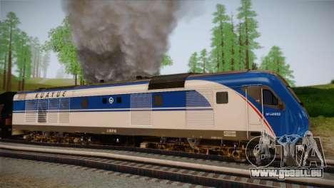 DF11G pour GTA San Andreas vue arrière